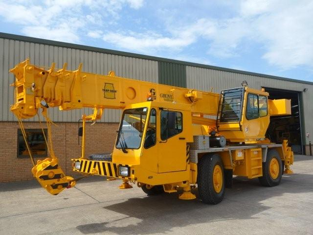 WAS SOLD Grove AT635E all terrain crane