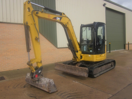 SOLD Caterpillar 305 CR Midi tracked excavator | used military vehicles, MOD surplus for sale