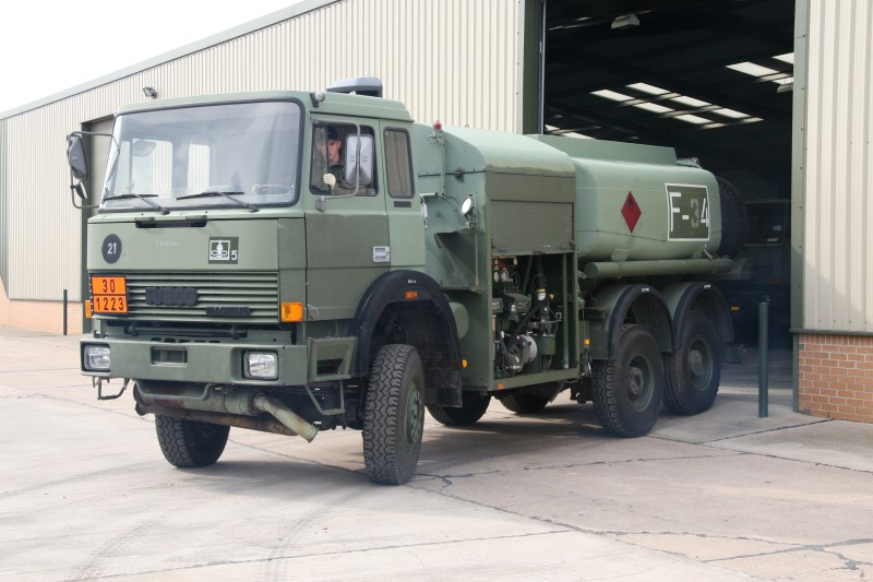 Iveco 200-32 8,000lt  6x4 Airfield  tanker truck for sale | military vehicles