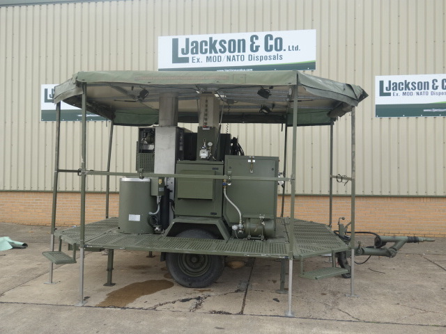 SERT RLS2000 Field Laundry Trailers | Military Land Rovers 90, 110,130, Range Rovers, Mercedes for Sale