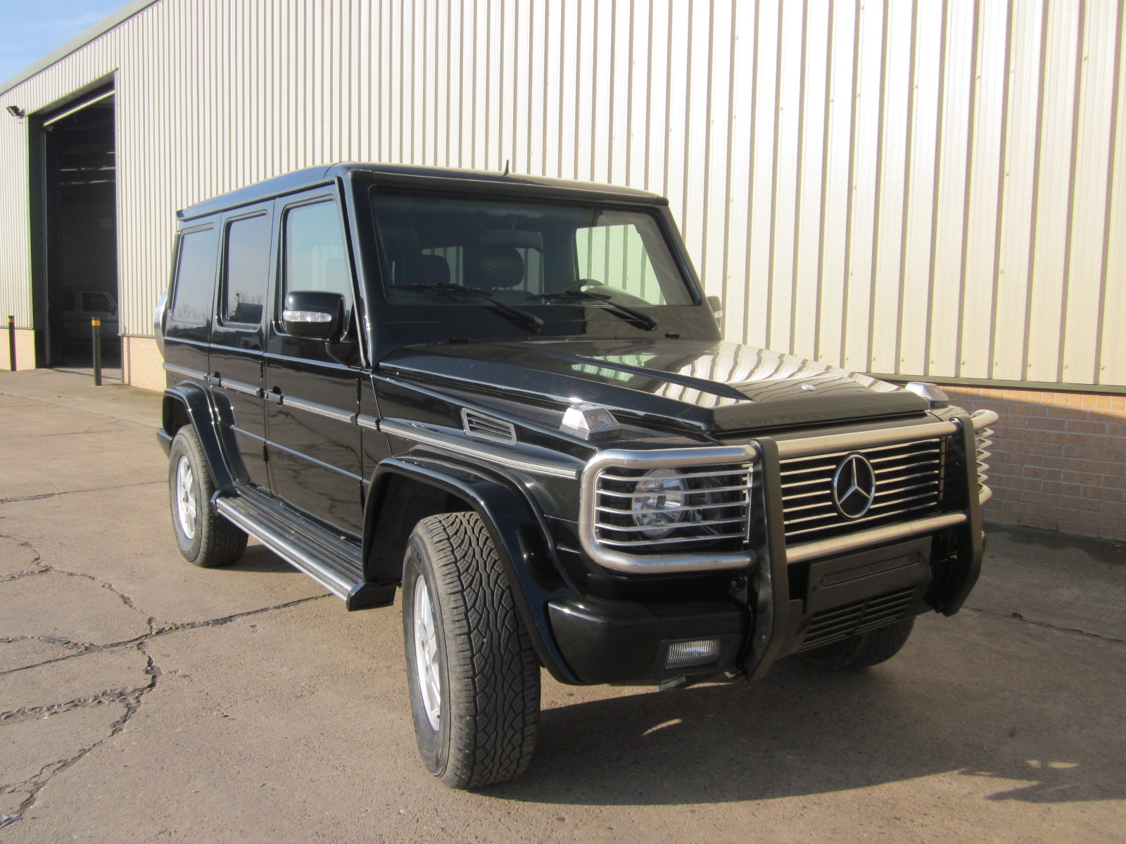WAS SOLD Armoured Mercedes G500  Wagon SUV 4x4