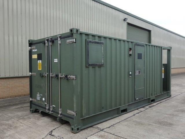 20ft DROPS Refrigerated Container for sale | military vehicles