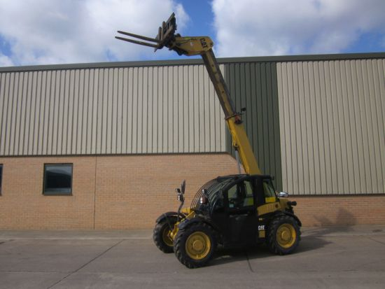 WAS SOLD Caterpillar TH 210 teleporter