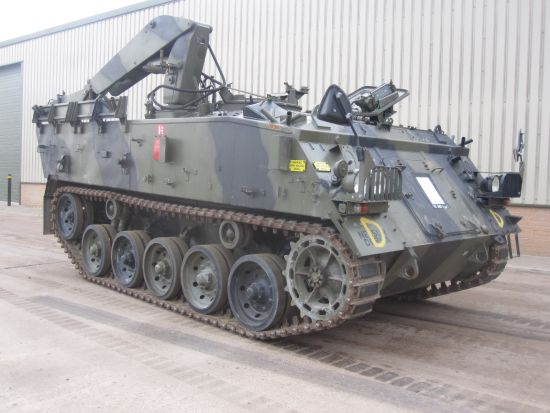 WAS SOLD FV434 Armoured Repair military vehicle