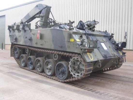 FV434 Armoured Repair military vehicle