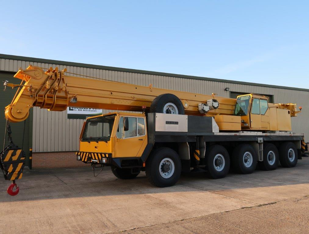 Liebherr LTM1120 120t all terrain mobile crane |  EX.MOD direct sales