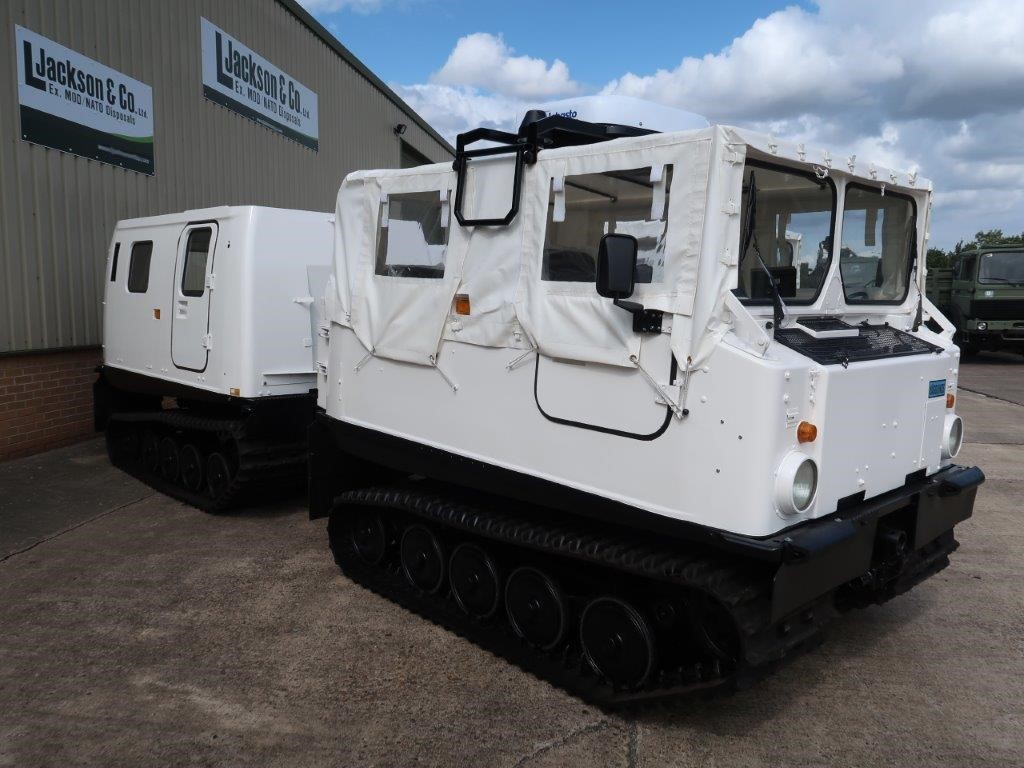 Hagglunds BV 206 Soft Top With Twist Locks for sale
