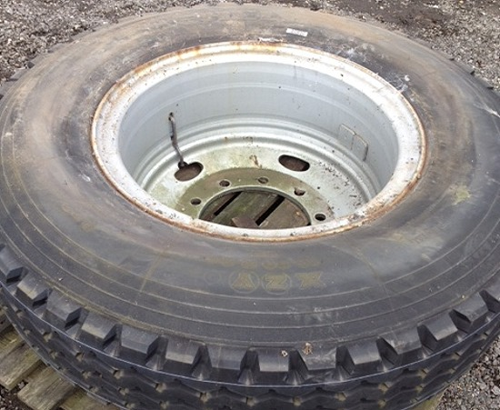 Unused Michelin 12.00R24 XZY for sale | military vehicles