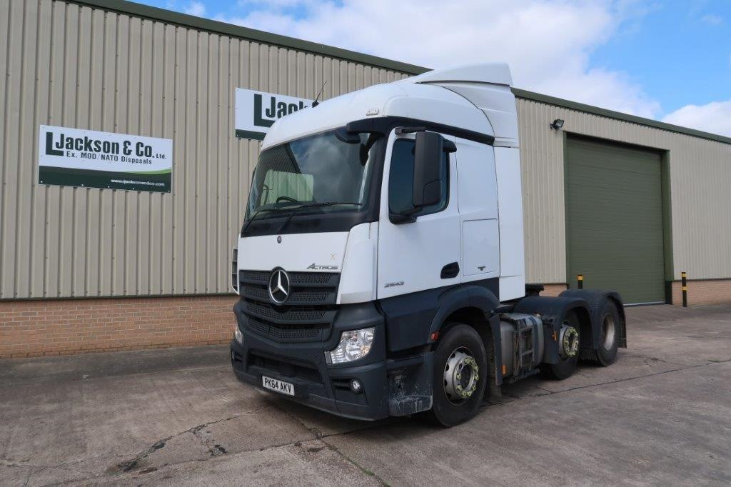 Mercedes Actros 2545 6x2 Tractor Units | used military vehicles for sale
