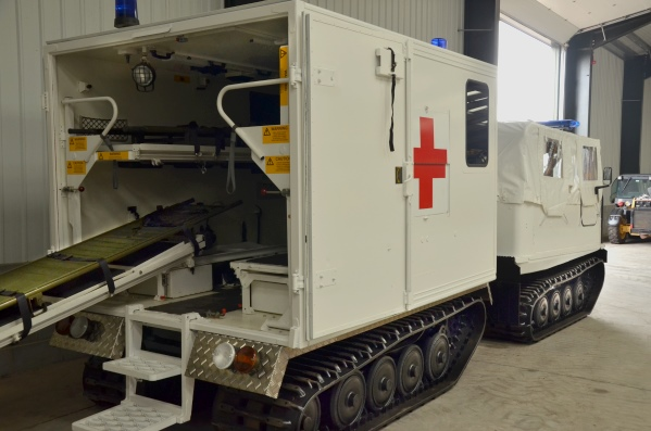Hagglunds Bv206  soft top ambulance | used military vehicles, MOD surplus for sale