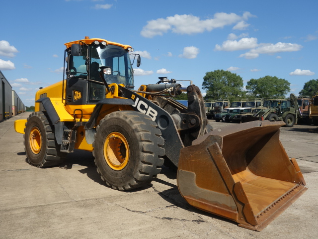 JCB 457 ZX Wheeled Loader | used military vehicles, MOD surplus for sale