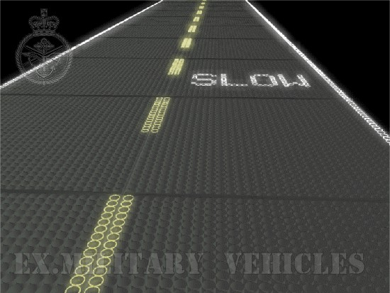 PSP planking - temporary roadway | used military vehicles, MOD surplus for sale