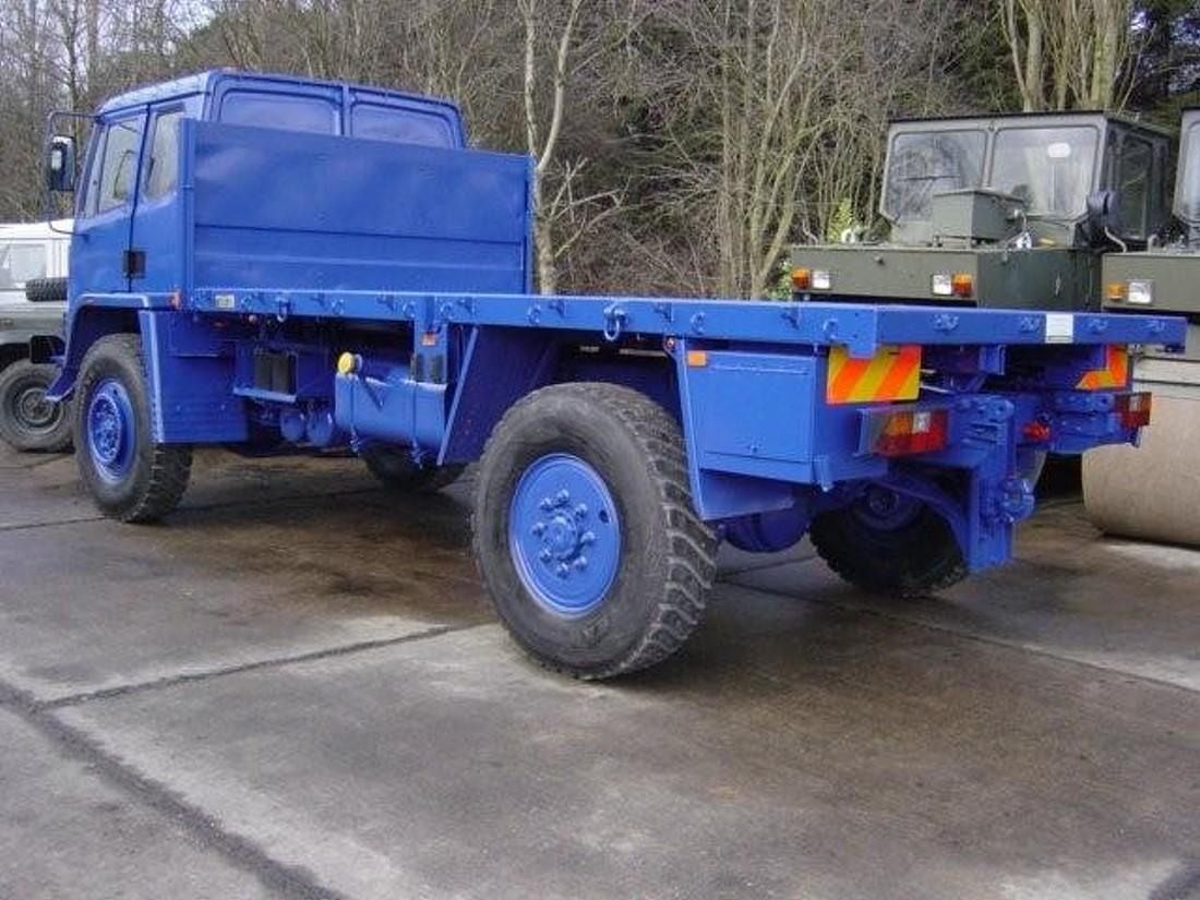Leyland DAF 4X4 Truck Flat Bed Cargo trucks  military for sale