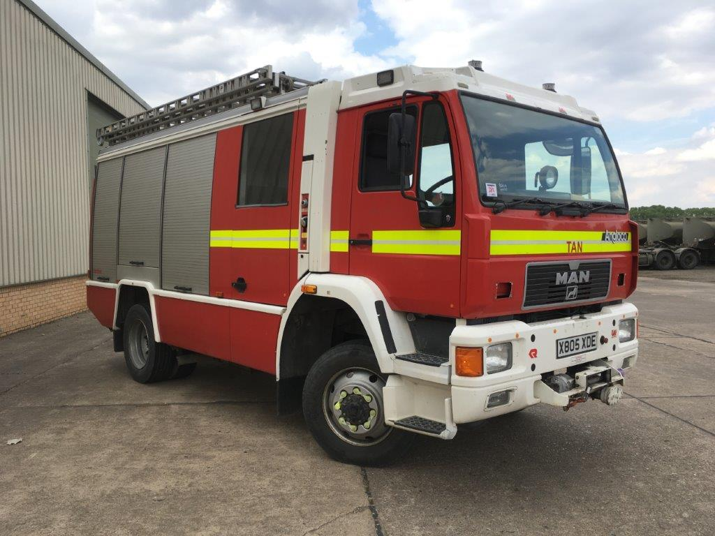 M.A.N RESCUE PUMP 14.284 4x4 |  EX.MOD direct sales