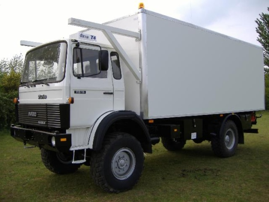 WAS SOLD Iveco 110-16 4x4 refrigerated cargo truck