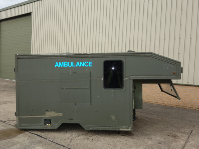 Marshalls Land Rover 130 Ambulance Body for sale | military vehicles
