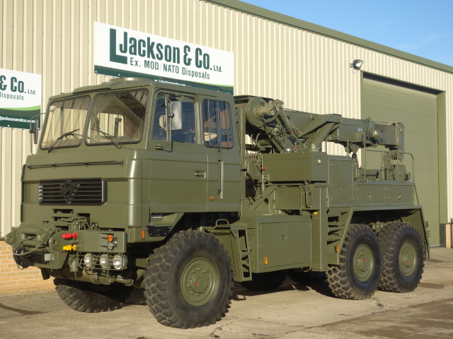 Foden 6x6 Recovery Truck | used military vehicles for sale