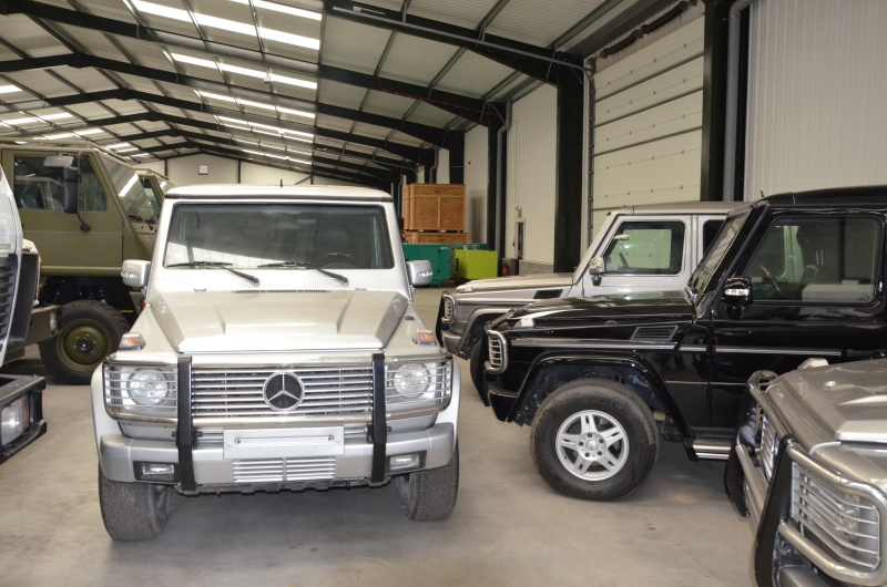 Armoured Mercedes G500  Wagon SUVs 4x4 | used military vehicles, MOD surplus for sale