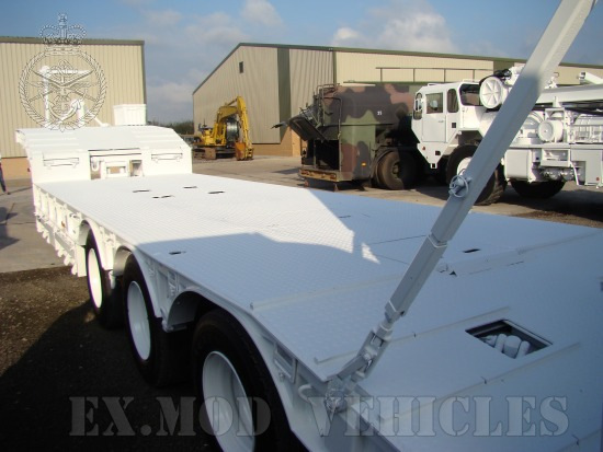 Trailmaster TS45 45,000kg semi low bed  EX.MOD  trailer | used military vehicles, MOD surplus for sale