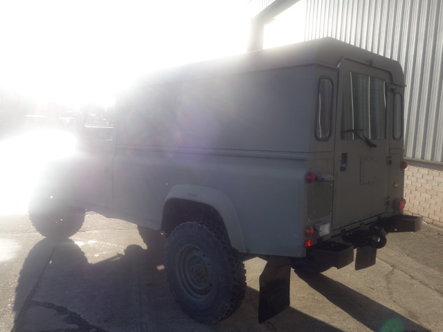 Land Rover Defender 110 300Tdi hard top  for sale . The UK MOD Direct Sales