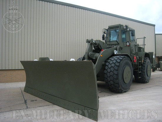 Caterpillar Wheeled dozer  972G Armoured Plant for sale