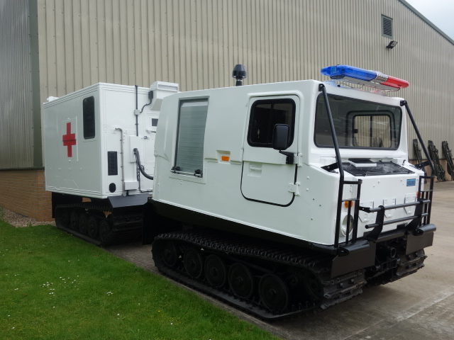 Hagglund Bv206 hard top Ambulance  for sale