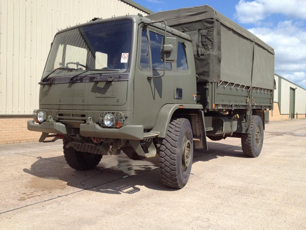 Leyland Daf T45 4x4 Personnel Carrier / shoot vehicle with Canopy & Seats | used military vehicles for sale
