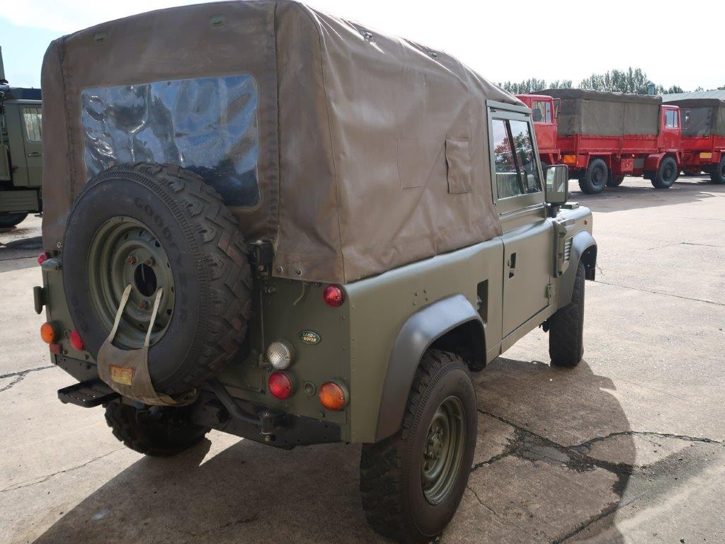 Land Rover Defender 90 Wolf LHD Soft Top (Remus) | used military vehicles, MOD surplus for sale