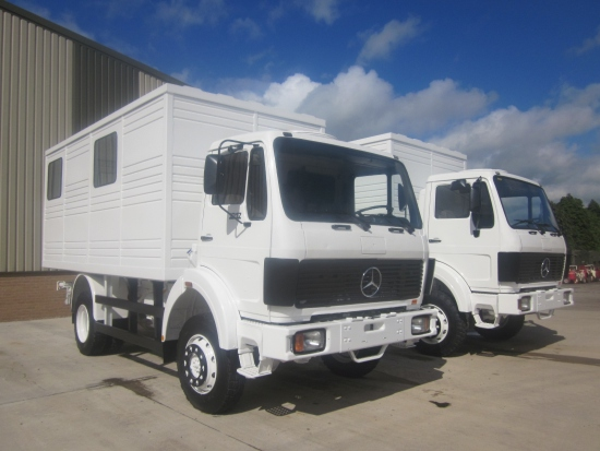 WAS SOLD Mercedes 1017  4x4 Box personnel Carrier