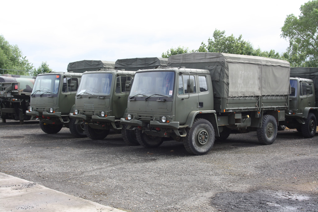 Leyland DAF 45.150  4x4 Military chassis Truck for sale | military vehicles