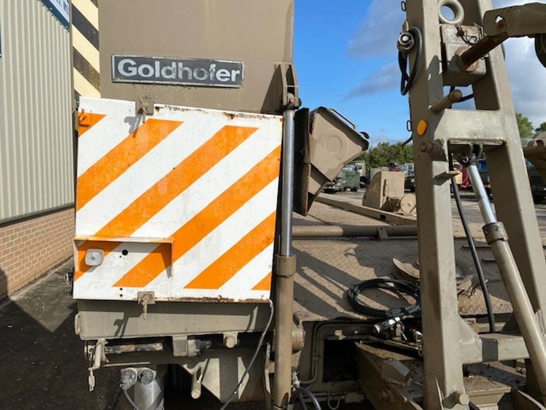 Goldhofer 8 Axle Low Loader Trailers  military for sale