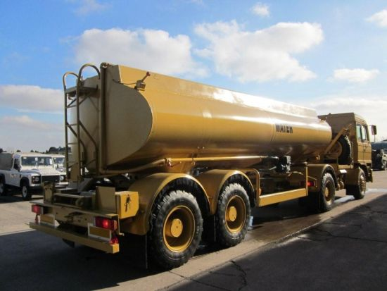 Foden 4380 MWAD 8x6 Watering Dust Suppression  Truck | used military vehicles, MOD surplus for sale