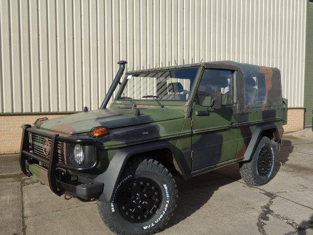 SOLD Mercedes Benz G wagon 250 Wolf 4x4 | used military vehicles, MOD surplus for sale