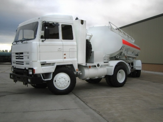 Foden 4380 MWAD 8x6 Multidrive Tanker truck 20000 Lt. | used military vehicles, MOD surplus for sale