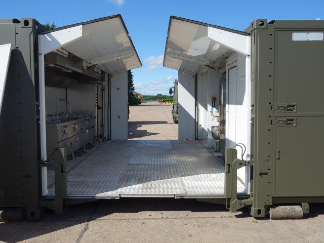 SERT ELC 500 containerised catering / kitchen unit | used military vehicles, MOD surplus for sale