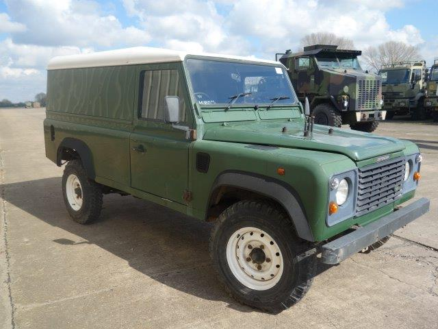 Land Rover Defender 110 300TDi hard tops | used military vehicles, MOD surplus for sale