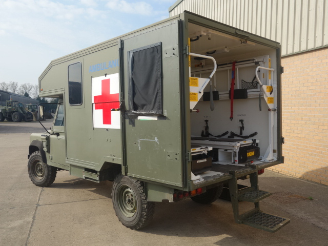 Land Rover 130 Defender Wolf RHD Ambulance  military for sale