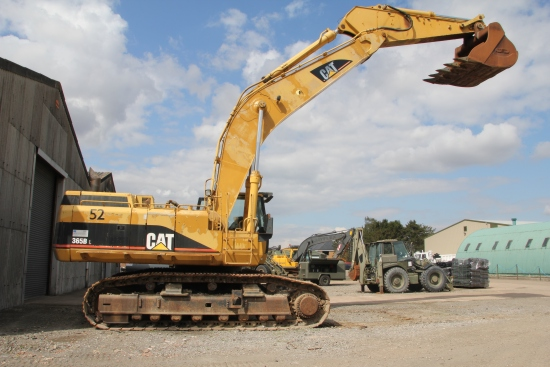 SOLD Caterpillar 365BL Hydraulic Excavator | used military vehicles, MOD surplus for sale