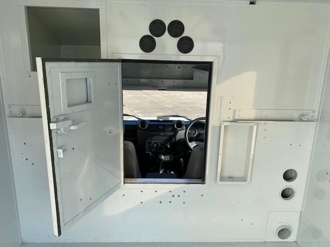 Unused Land Rover Defender 130 RHD Box Vehicle   used military vehicles, MOD surplus for sale