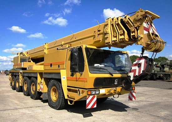 Grove GMK 5130 130 ton 5 axle all terrain military crane price