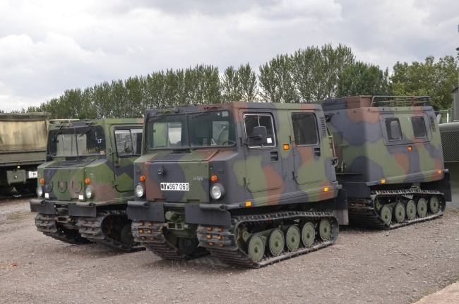 Hagglunds BV206 Personnel Carrier (Petrol/Gasolene)  for sale . The UK MOD Direct Sales