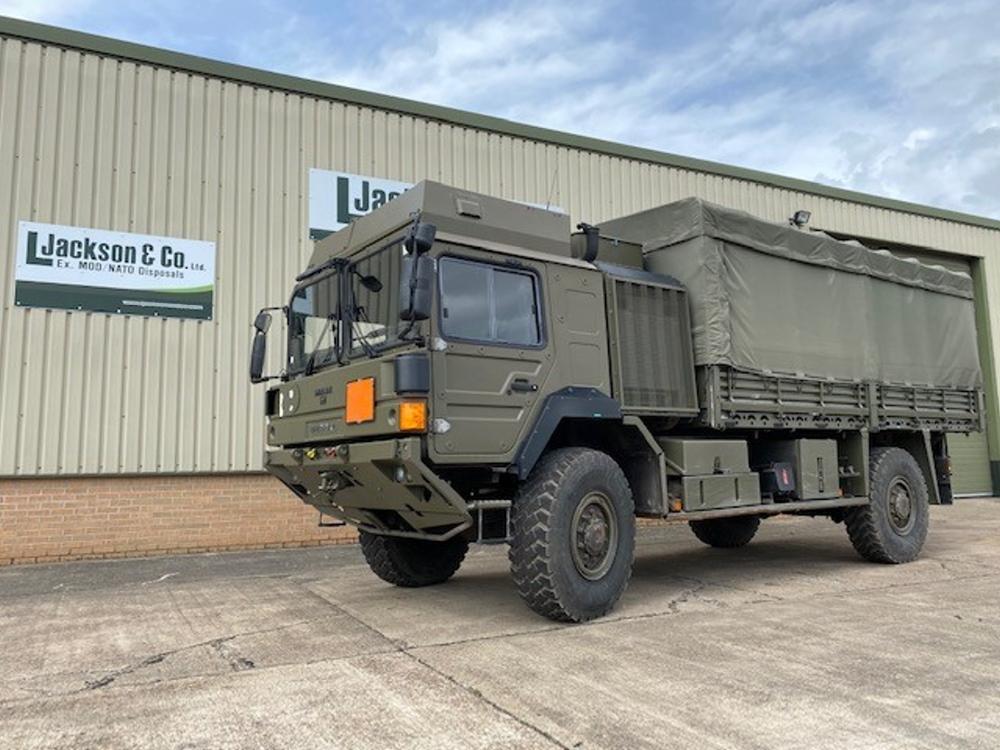 MAN HX60 18.330 4x4 Drop Side Cargo Trucks with Canopy