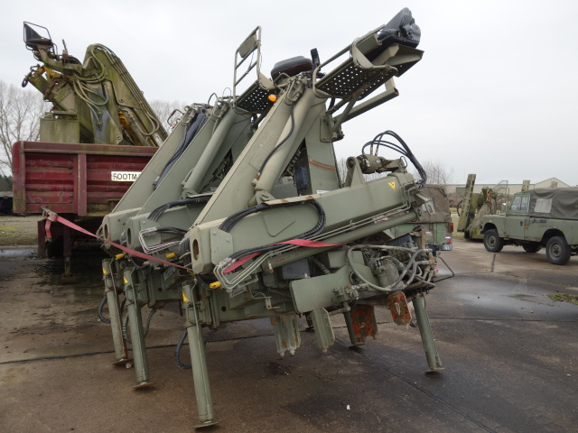 Hiab 115-1 Hydraulic Cranes | Military Land Rovers 90, 110,130, Range Rovers, Mercedes for Sale