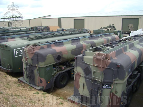 MAN  CAT  A1  8x8  + Aurepa 30000 tanker truck   used military vehicles, MOD surplus for sale