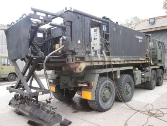 Bitumin container storage/distributor unit | used military vehicles, MOD surplus for sale