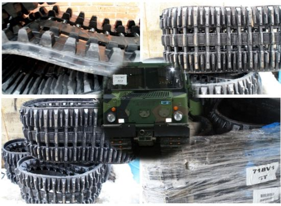 Used  Refurbished Tracks for Hagglund BV206 for sale