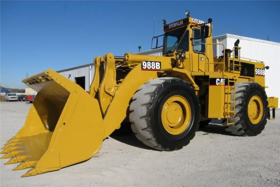 WAS SOLD Caterpillar  988  Military Loader