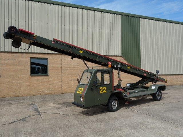 AMSS Self Propelled 9 Metre Belt Loader - | Ex military vehicles for sale, Mod Sales, M.A.N military trucks 4x4, 6x6, 8x8