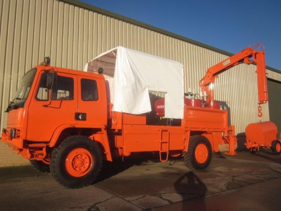 Leyland Daf 45.150   4x4  lube and service ex.mod truck for sale | military vehicles