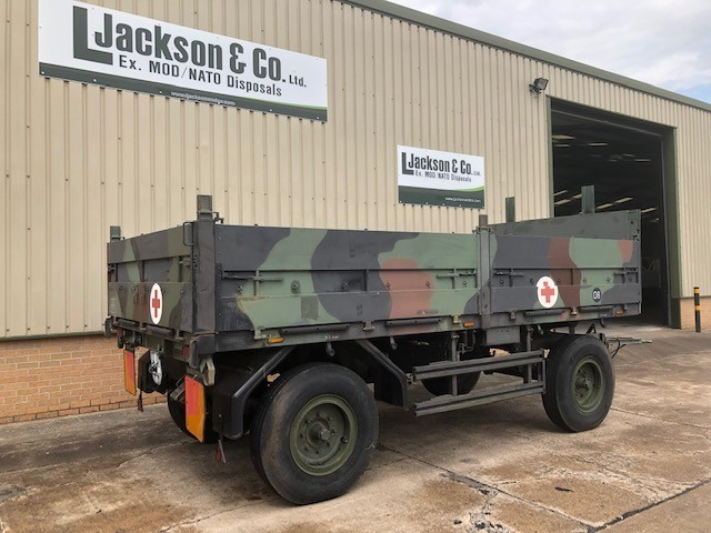 Schmitz 2 Axle Draw Bar Cargo Trailer | used military vehicles, MOD surplus for sale